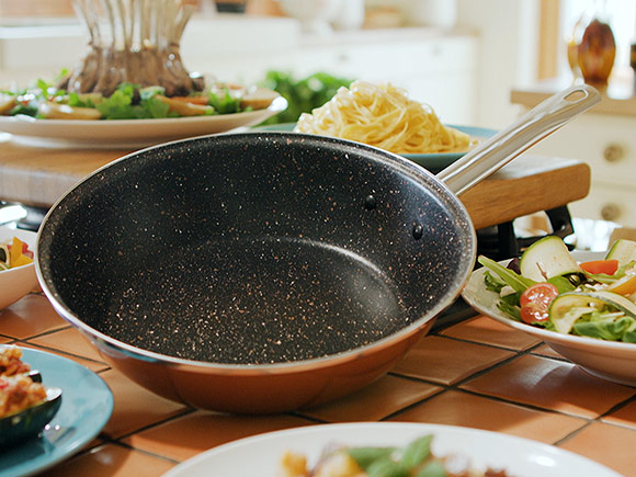 Delimano Stone Legend CopperLUX High Pan 26 cm